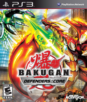 Bakugan Battle Brawlers: Defenders of the Core Boxart