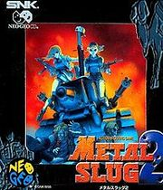 METAL SLUG 2 Boxart