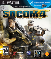 SOCOM 4: US Navy SEALS Boxart