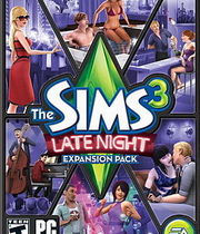 The Sims 3 Late Night Boxart