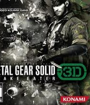 Metal Gear Solid 3D Snake Eater Boxart
