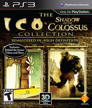 ICO and Shadow of the Colossus Collection Boxart