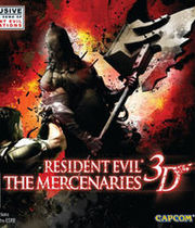 Resident Evil: The Mercenaries 3D Boxart