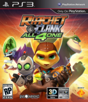 Ratchet & Clank: All 4 One Boxart