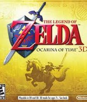 The Legend of Zelda: Ocarina of Time 3D Boxart