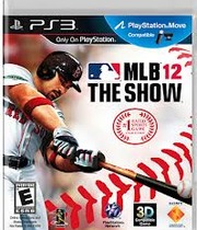 MLB 12: The Show (PS3) Boxart