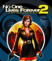 No One Lives Forever 2: A Spy in H.A.R.M.'s Way Boxart