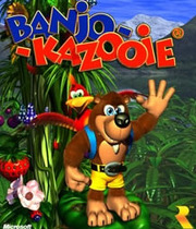 Banjo-Kazooie Boxart