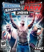 WWE Smackdown vs Raw 2011 Boxart