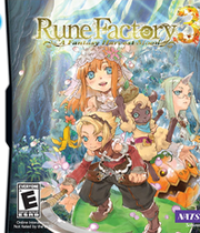 Rune Factory 3: A Fantasy Harvest Moon Boxart