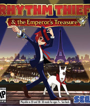 Rhythm Thief & the Emperor's Treasure Boxart