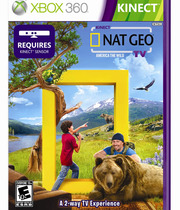 Kinect Nat Geo TV Boxart