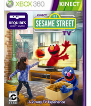 Kinect Sesame Street TV Boxart