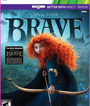 Brave the Video Game Boxart