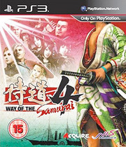 Way of the Samurai 4 Boxart