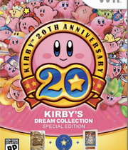 Kirby&#x27;s Dream Collection Boxart