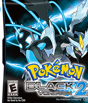 Pokemon Black & White Version 2 Boxart