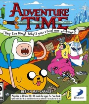 Adventure Time: Hey Ice King! Why&#x27;d you steal our garbage? Boxart