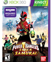 Power Rangers Super Samurai Boxart