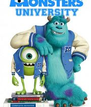 Monsters University (2013) Boxart