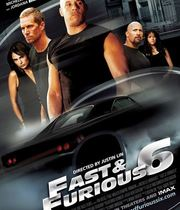 The Fast and the Furious 6 (2013) Boxart