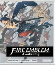 Fire Emblem: Awakening Boxart