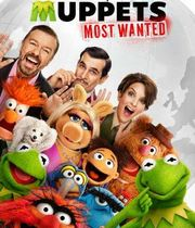 The Muppets Most Wanted (2014) Boxart