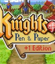 Knights of Pen and Paper Boxart