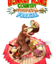 Donkey Kong: Tropical Freeze Boxart