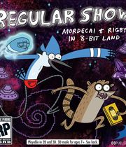 Regular Show: Mordecai and Rigby In 8-Bit Land Boxart