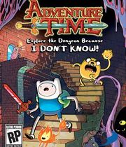 Adventure Time: Explore the Dungeon Because I Don't Know! Boxart