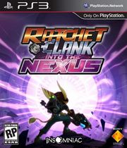 Ratchet & Clank: Into the Nexus Boxart