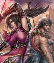 SoulCalibur Lost Swords Boxart