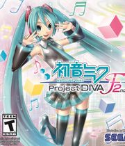 Hatsune Miku: Project Diva F 2nd Boxart