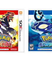 Pokémon Omega Ruby and Pokémon Alpha Sapphire Boxart