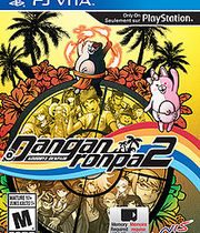Danganronpa 2: Goodbye Despair Boxart