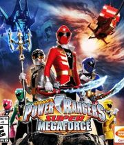 Power Rangers Super Megaforce Boxart