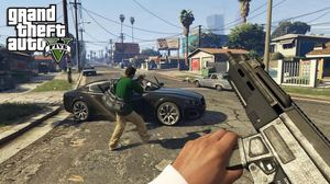 Grand Theft Auto V | First-Person Mode gameplay