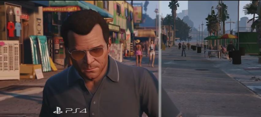 Grand Theft Auto V | PS3 to PS4 Comparison