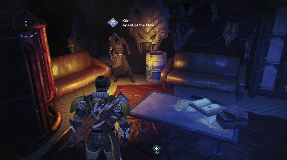 Destiny | Xur, Agent of the Nine, location and exotic items (11/21/14)