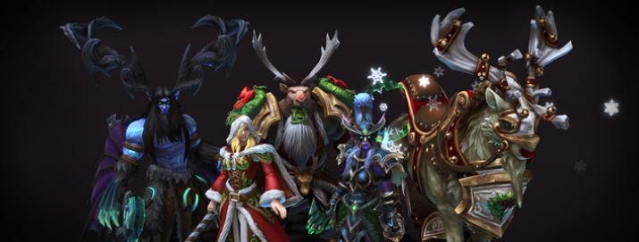 Heroes of the Storm | Winter Veil Skins, Mount, and Altered Fates
