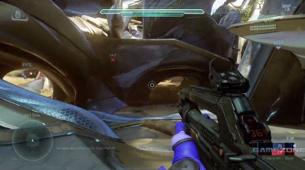 Halo 5: Guardians Multiplayer Beta Slayer Gameplay on Regret