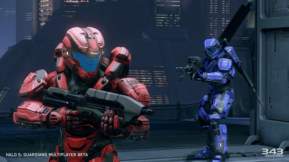 Halo 5: Guardians Multiplayer Beta Slayer Gameplay on Eden