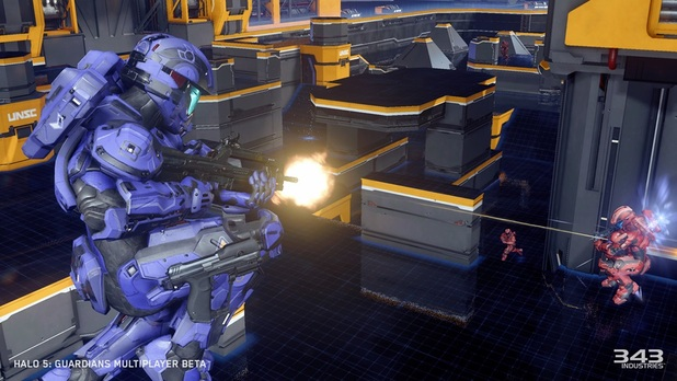 Halo 5: Guardians Multiplayer Beta | Breakout Mode on Crossfire Map