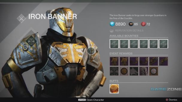 Destiny | Iron Banner Rewards (1/13/15)