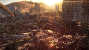 Video: Taking our first step outside in Dying Light