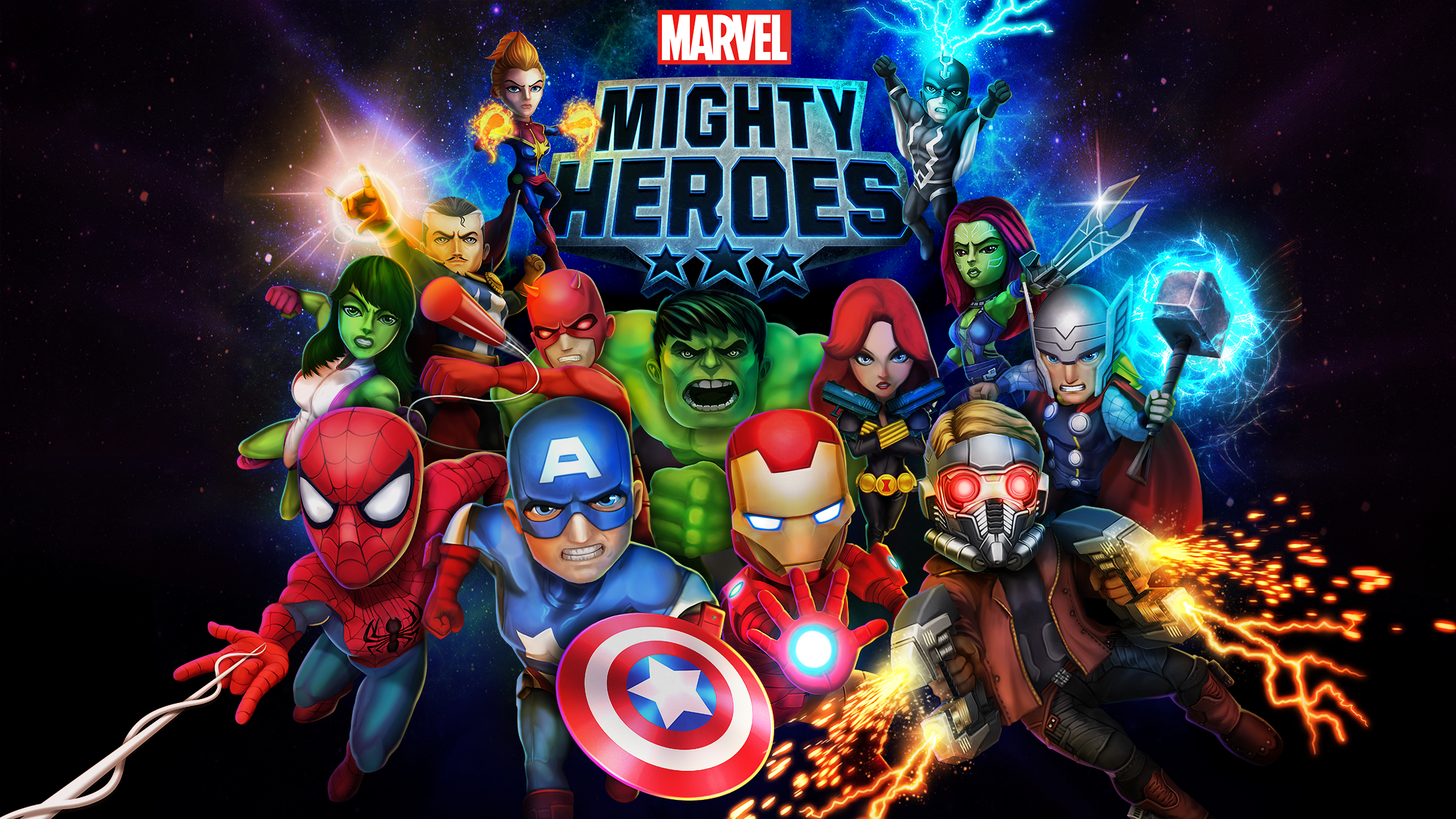 Marvel Mighty Heroes | Announcement Trailer