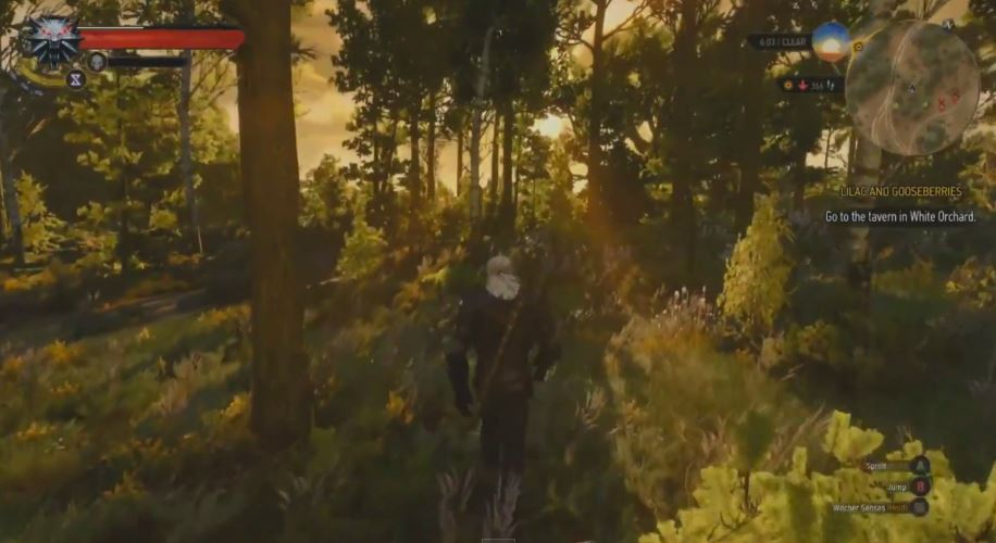 Witcher 3   Gameplay from GDC 2015 (Sunrise)