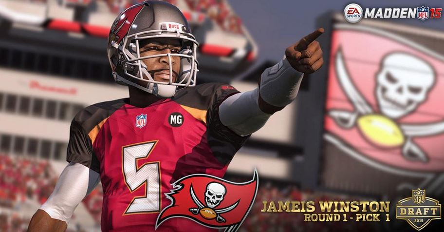 Madden NFL 15 | First Look: Tampa Bay Buccaneers' Jameis Winston