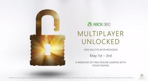Xbox Live | Multiplayer Unlocked May 1 - 3